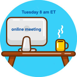 Live NA Video Meeting on Tuesday